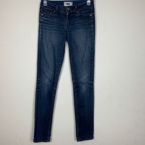 Paige- Skyline Skinny Straight Leg Jeans size 24
